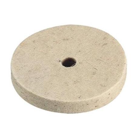 Filc polírozótárcsa 75 mm