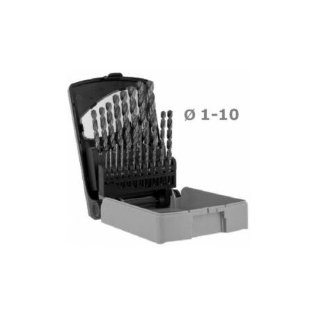 T540 - 19 részes csigafúró készlet, HSS PRO+