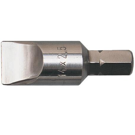 Lapos bit 5/16'' hatszögbefogással 14 mm széles