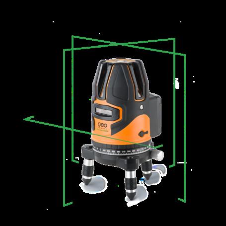 FLG 64 zöld fényű önbeálló vonallézer
